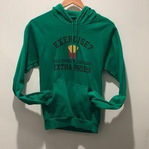 Tops - Extra Fries hoodie fits US 2-4